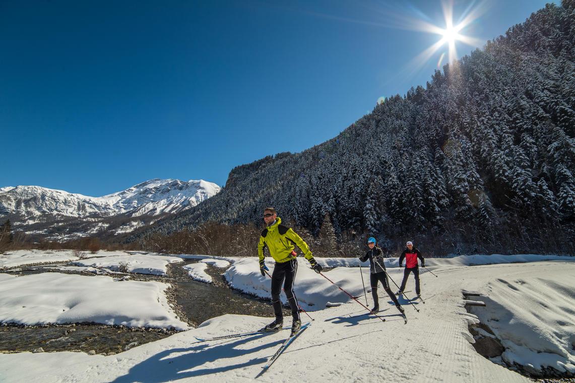 Ski de fond Base de loisirs d'Orcières