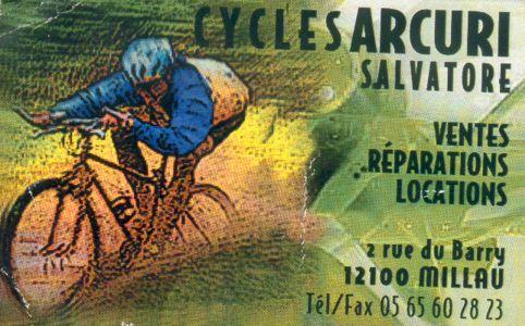 Cycles Arcuri - Location