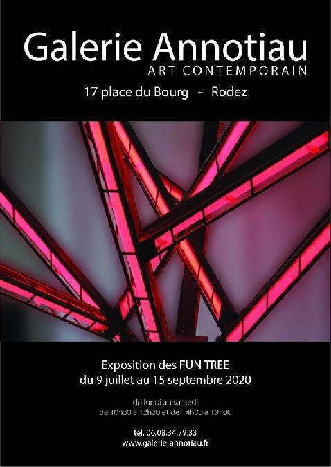 Exposition des FUN TREE à la Galerie Annotiau