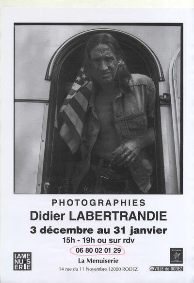 Exposition de photographies : Didier Labertrandie