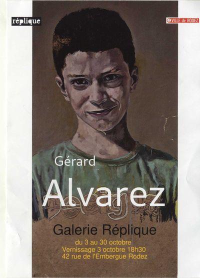 Exposition Gérard ALVAREZ