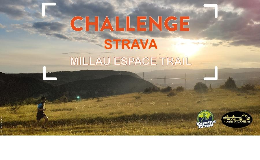 Challenge STRAVA - Millau Espace Trail