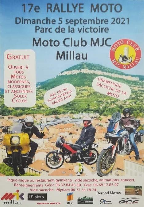 17e rallye moto - Moto Club MJC