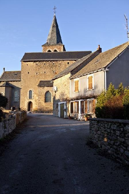 L'église de la Capelle-Saint-Martin