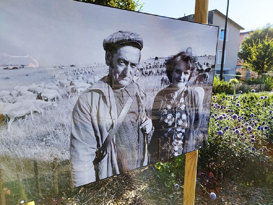 """Exposition de photos """" La lutte du Larzac en images """" quais Sully Chaliès"""