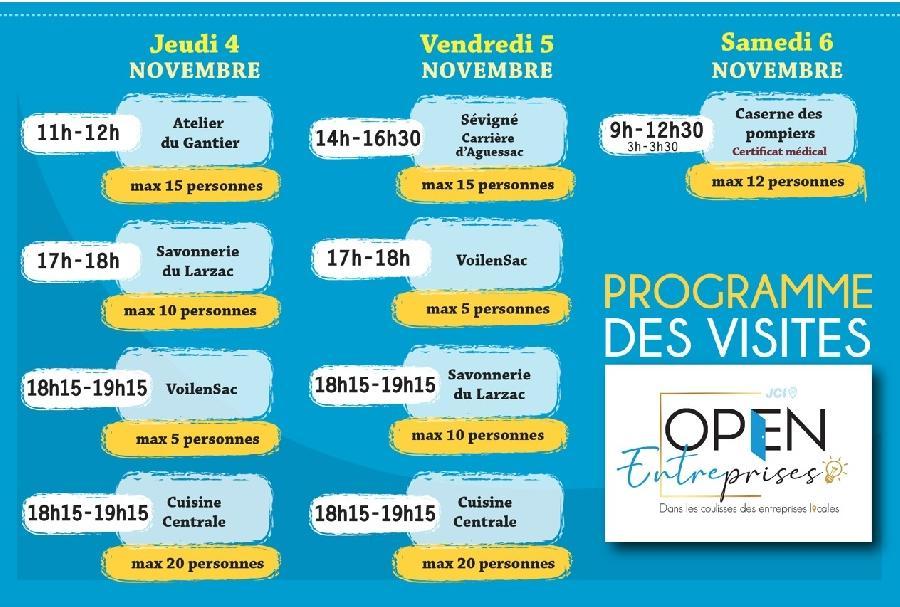 Caserne des pompiers - Open Entreprises - JCE