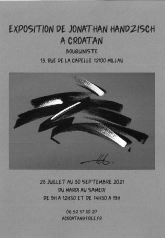 """Exposition de Jonathan Handzisch """" A Croatan"""""""