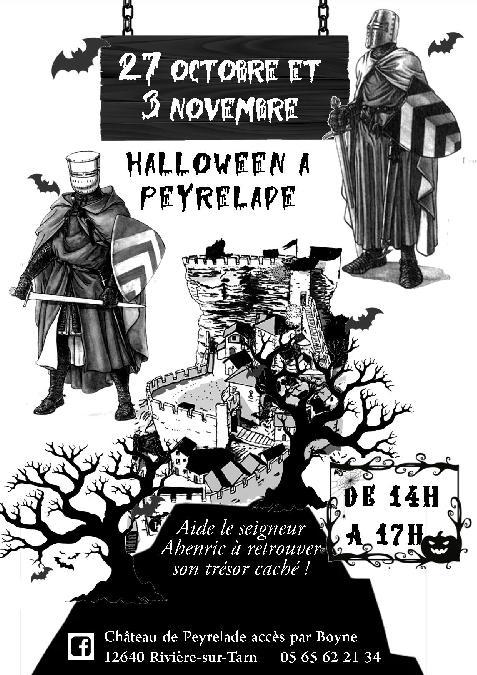 Halloween au château de Peyrelade