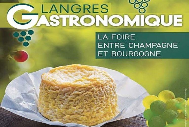 langres 52 foire gastronomique.