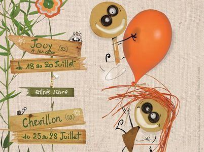 champagne 52 manifestation chevillon festival chifoumi affiche 2019 v.
