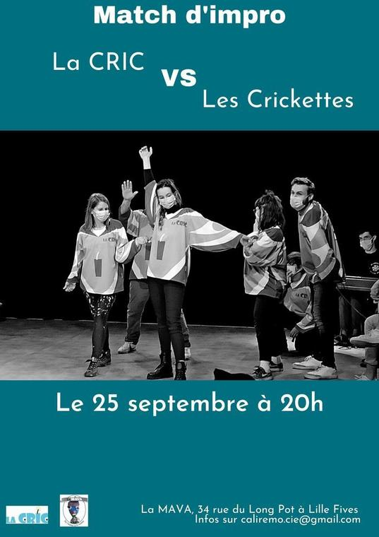 Match d'impro : La CRIC - Les Crickettes_1