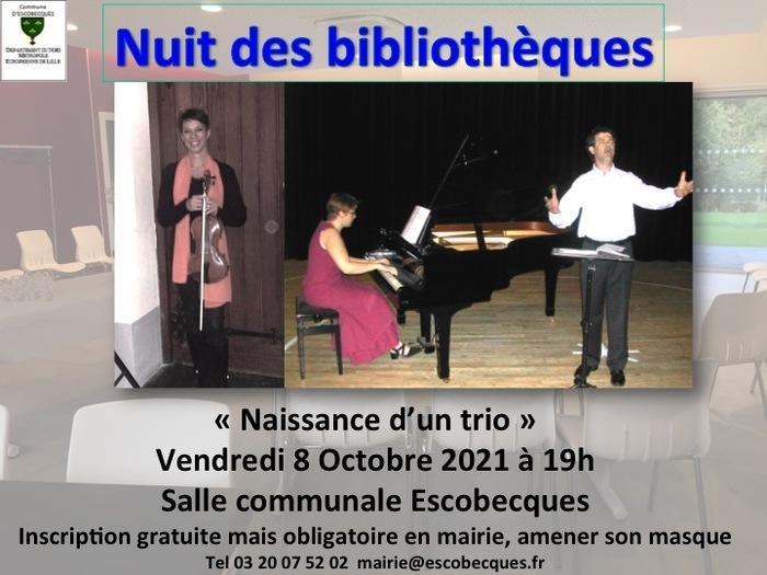 """concert: """" Naissance d'un Trio""""_1"""