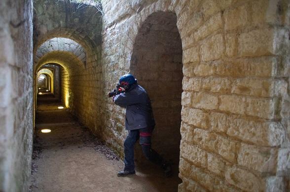 Fort de Condé_laser game_jeux
