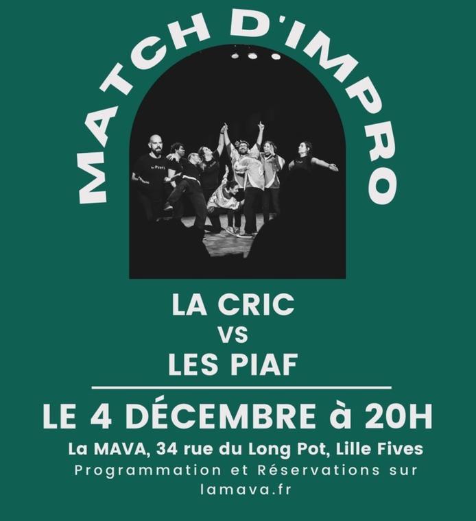 Match d'impro : la CRIC VS Les PIAF_1