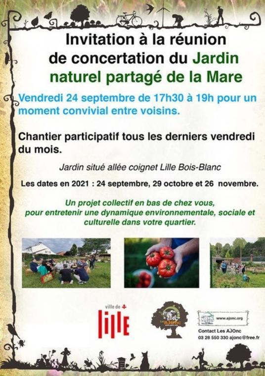 Concertation du Jardin naturel partagé de la Mare_1