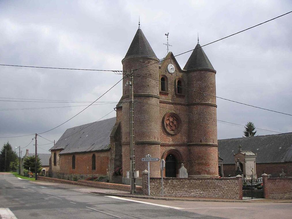 Eglise de Monceau sur Oise < Thierache < Aisne < Picardie