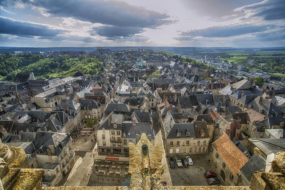 Montée hauteurs cathédrale VII < Laon < Aisne < Picardie