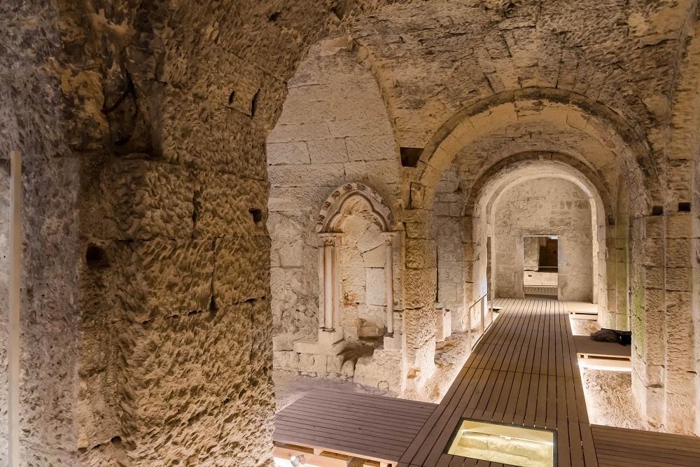 Crypte St-Médard. © S.CAMBON. GrandSoissons Agglomération -400-3702