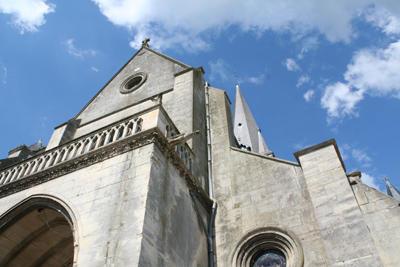Eglise façade < Marle < Aisne < Picardie