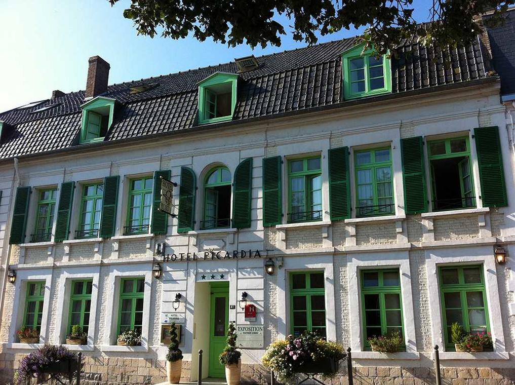 Hôtel Picardia_ext_Saint Valéry Sur Somme_Somme_Picardie