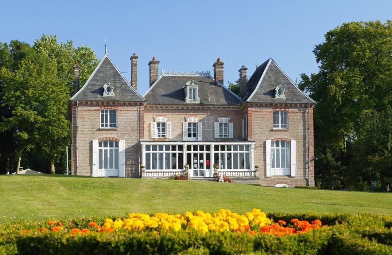 Domaine du Chateau de Drancourt_vue chateau_St Valery-sur-Somme_Somme_Picardie