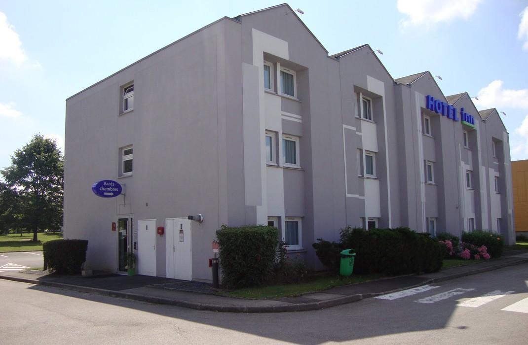 Hôtel Inn Design_facade_Dury_Somme_Picardie