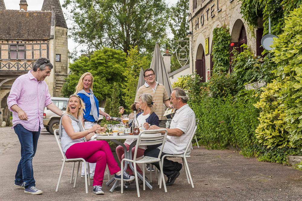 Hôtel Restaurant de l'Abbaye à Longpont