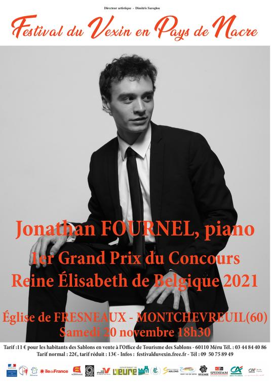 Récital de piano de Jonathan Fournel