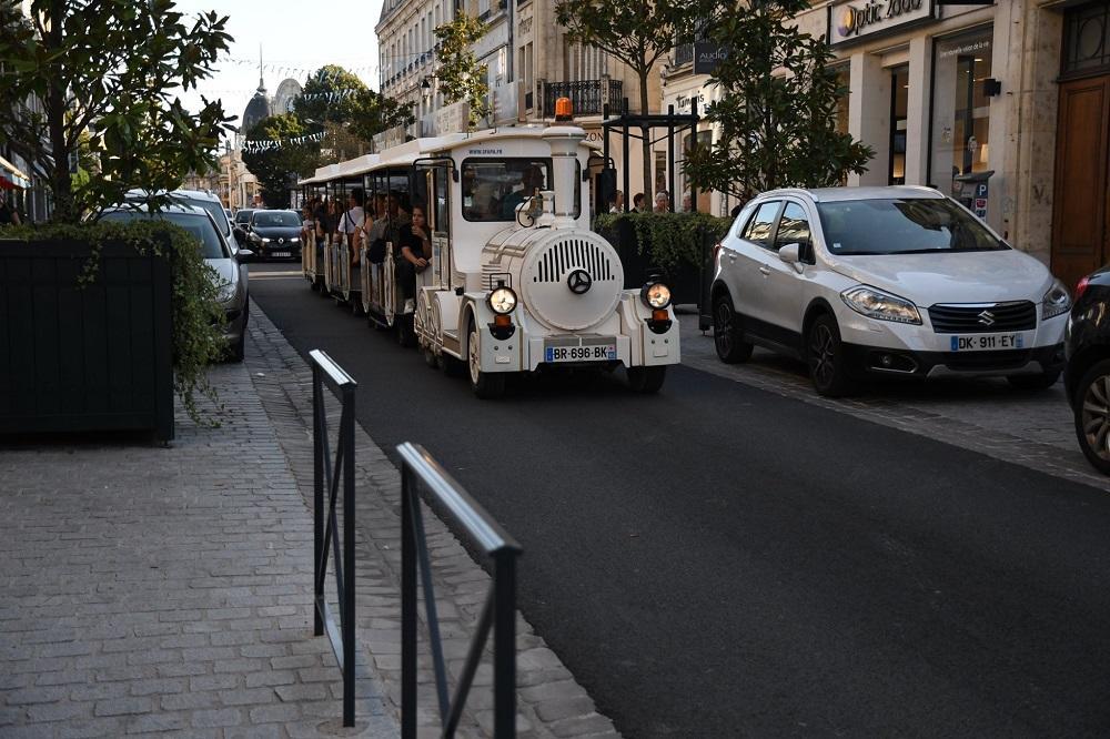 Petit train touristique 3© Ville de Soissons