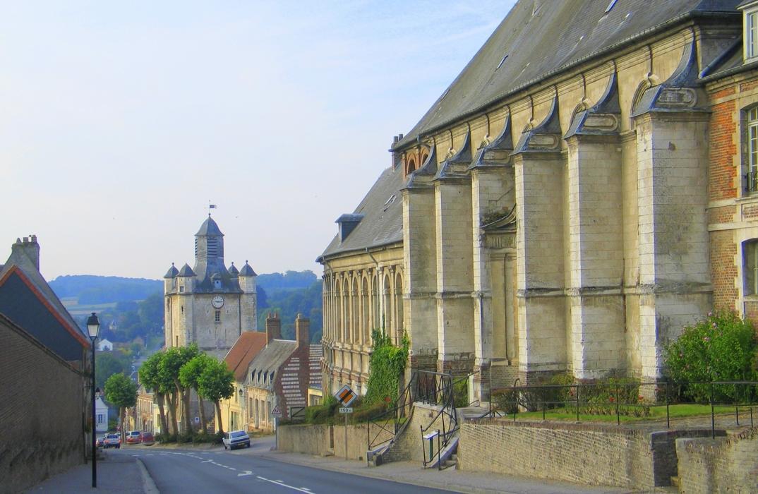 Saint-Riquier_Beffroi_Chapelle_Somme