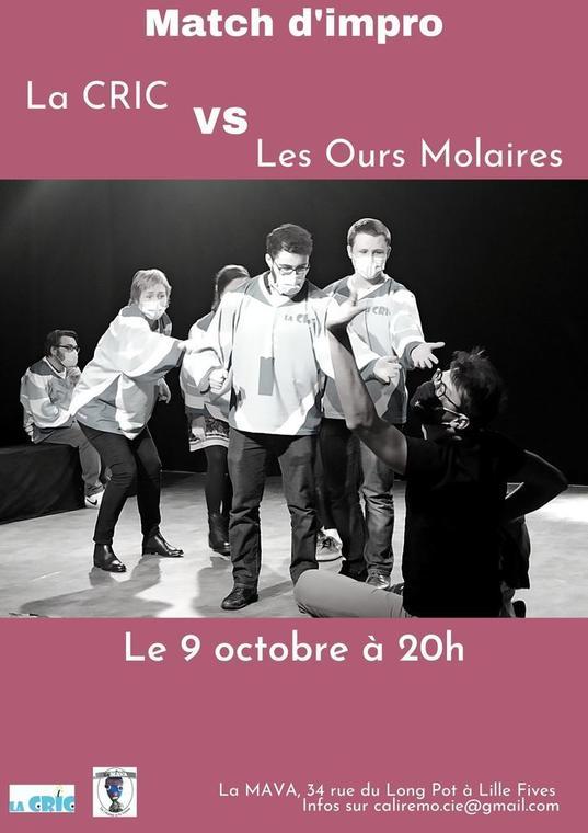 Match d'impro : La CRIC - Les Ours Molaires_1