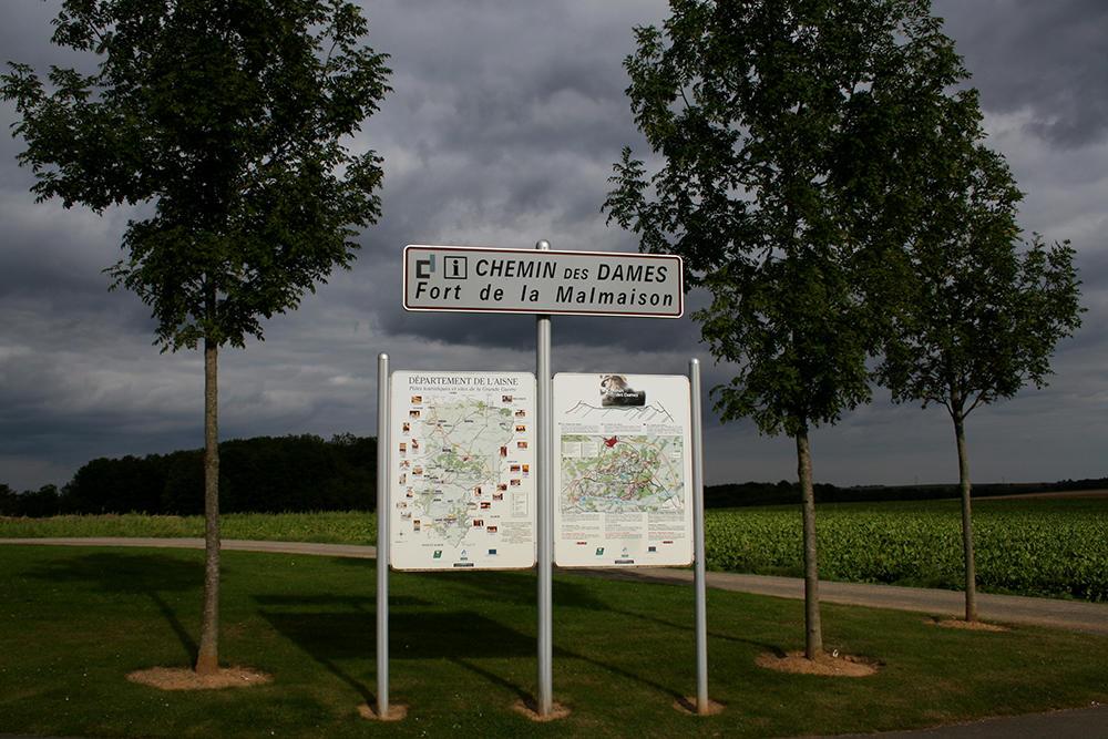 ort de la Malmaison entrée < Chavignon < Aisne < Picardie