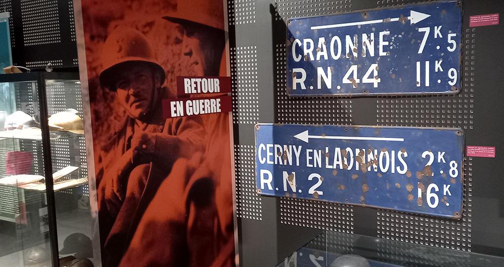 Exposition 14-40 Caverne II < Oulches-la-Vallée-Foulon < Aisne < Hauts-de-France
