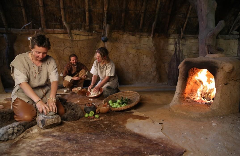 nourriture paleolithique © Samara