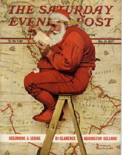 Expo Collégiale Père Noël Couverture de magazine 1939