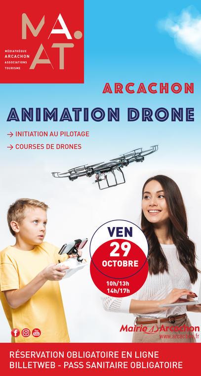 Initiation pilotage et courses de drones