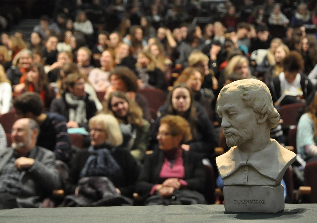 Prix Renaudot des Lycéens accueil lauréat