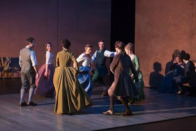 UNE DES DERNIERES SOIREES DE CARNAVAL - Goldoni - Hervieu-Leger - Theatre de Carouge et Theatre des Bouffes du Nord