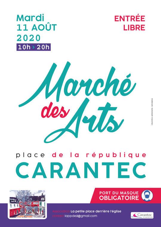 Marché des arts 2020-affiche-A3-Août
