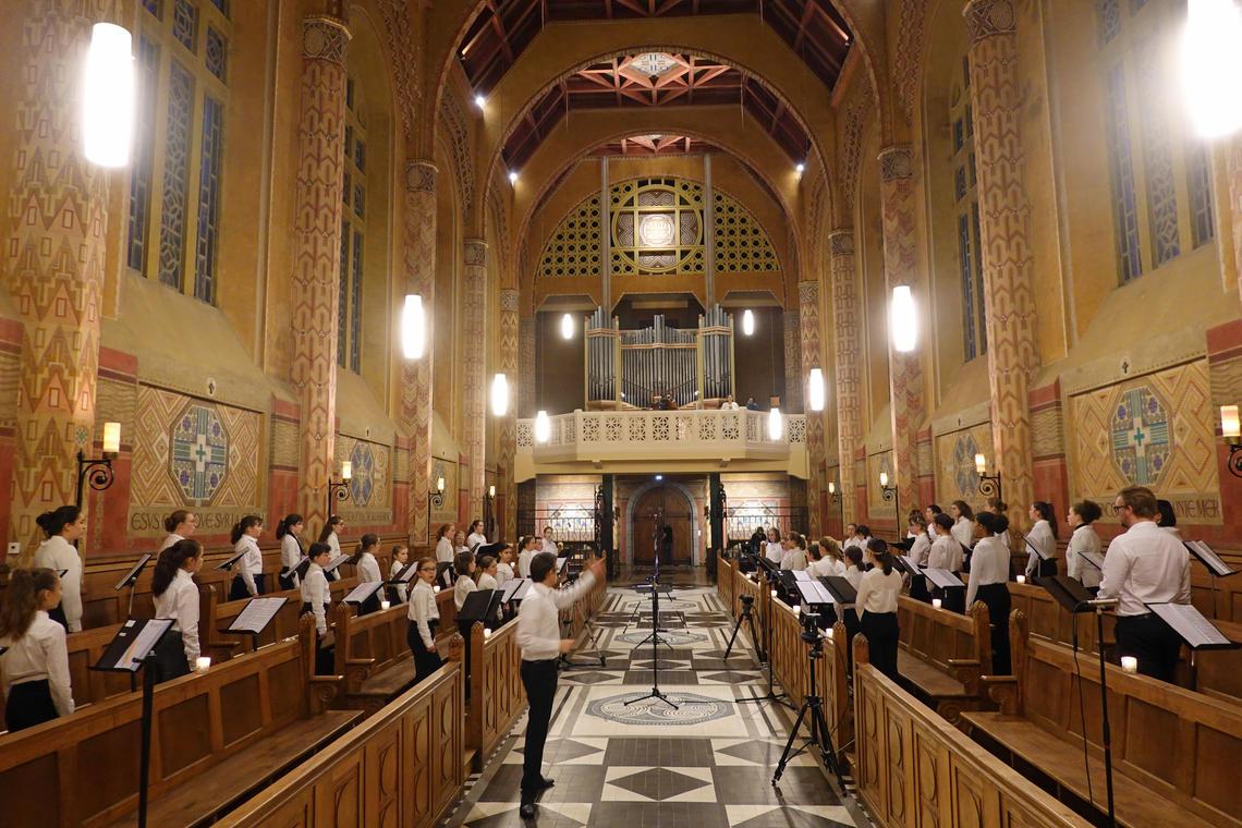 concert de la maîtrise de Saint-Brieuc