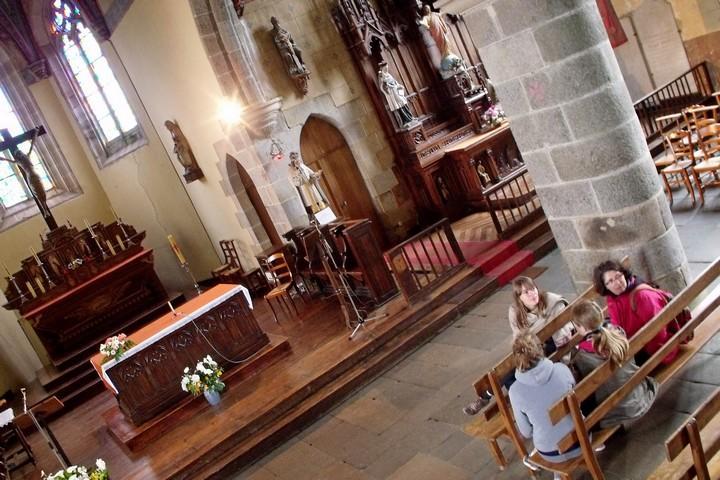visite guidée église St Brandan Lanvellec G. Leroi (2)