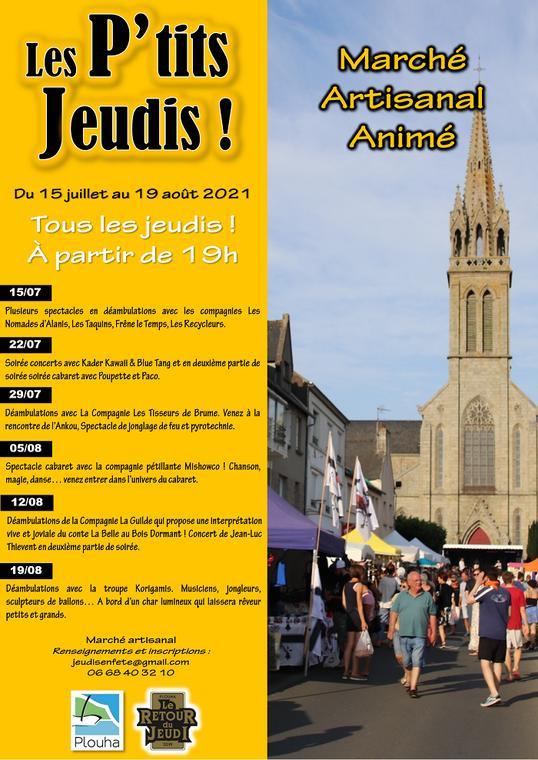 Affiche Les Ptits Jeudis