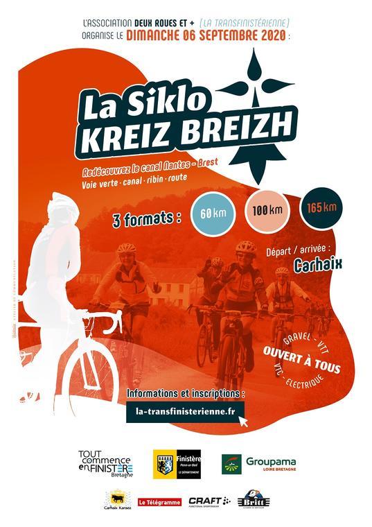 Affiche Siklo Kreiz Breizh
