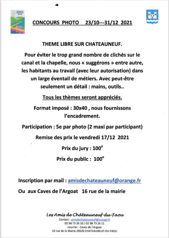 Concours photo thème libre sur Châteauneuf-du-Faou