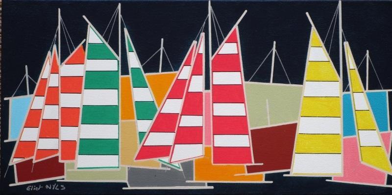 Expo peinture - Eliot Nyls - Plobannalec-Lesconil - Pays Bigouden