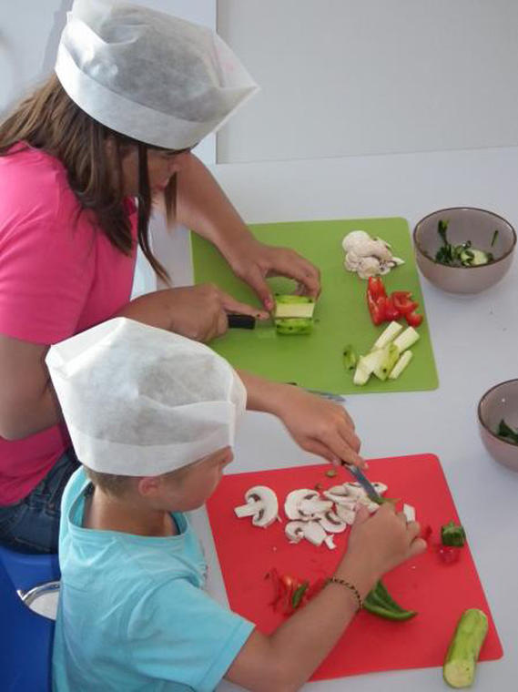 Atelier cuisine - Petits chefs - Haliotika - Guilvinec - Pays Bigouden