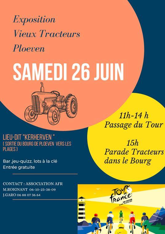 Exposition Vieux Tracteurs