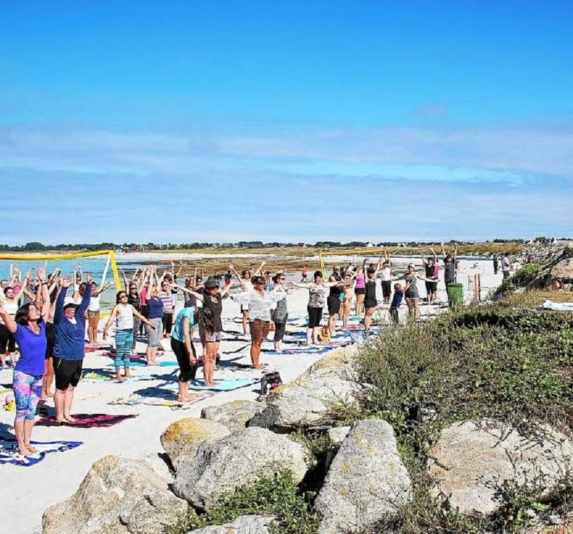 Festy Beach - Yoga - Guilvinec - Pays Bigouden