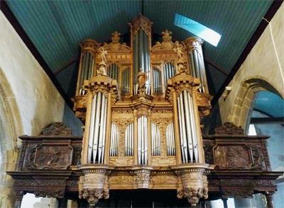 GUIMILIAU - orgue