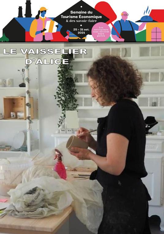 Le vaisselier d'Alice